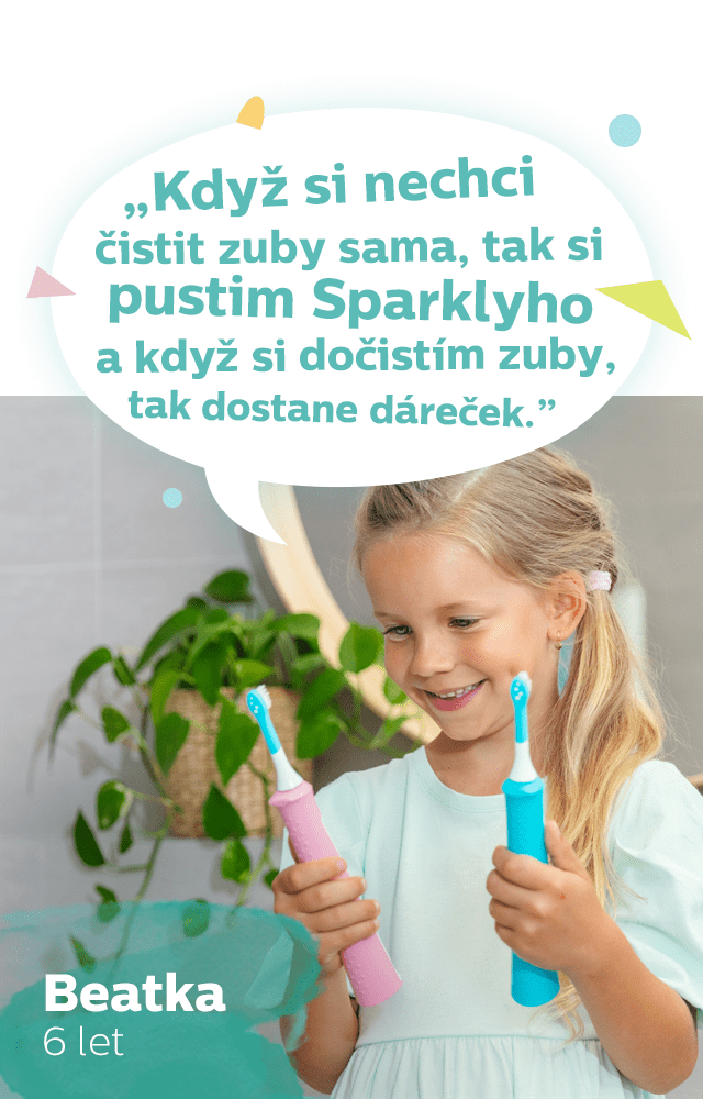 Beata - recenze sonicare for kids