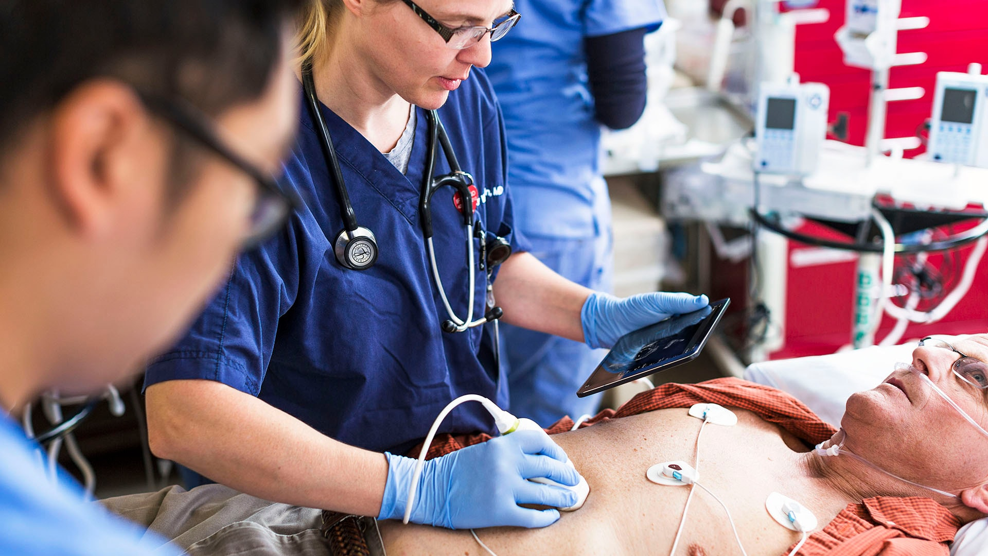 Philips Lumify handheld ultrasound supports life-saving technology in pre-hospital setting